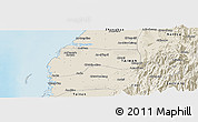 Shaded Relief Panoramic Map of Yunlin