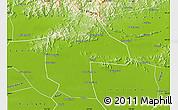 Physical Map of Ji Xian