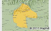 Savanna Style Map of Ji Xian