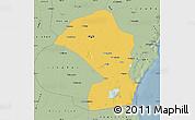 Savanna Style Map of Tianjin Shiqu