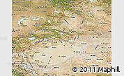 Satellite Map of Xinjiang Uygur