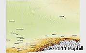 Physical Panoramic Map of Miquan