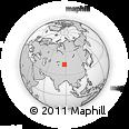 Outline Map of Urumqi