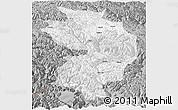 Gray Panoramic Map of Baxoi
