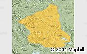 Savanna Style 3D Map of Ge Gyai