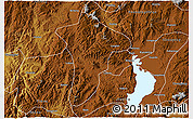 Physical 3D Map of Anning