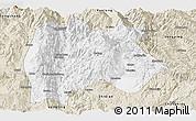 Classic Style Panoramic Map of Baoshan