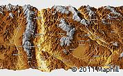 Physical Panoramic Map of Baoshan