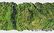 Satellite Panoramic Map of Baoshan