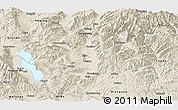 Shaded Relief Panoramic Map of Binchuan