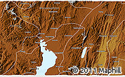 Physical 3D Map of Chengong