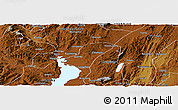 Physical Panoramic Map of Chengong