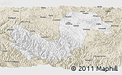 Classic Style Panoramic Map of Chuxiong