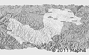Gray Panoramic Map of Chuxiong