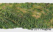 Satellite Panoramic Map of Chuxiong