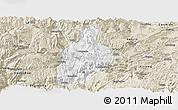 Classic Style Panoramic Map of Daguan