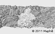 Gray Panoramic Map of Daguan