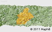 Savanna Style Panoramic Map of Daguan