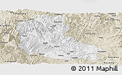 Classic Style Panoramic Map of Dayao