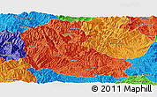 Political Panoramic Map of Dayao
