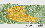 Savanna Style Panoramic Map of Dayao