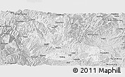 Silver Style Panoramic Map of Dayao
