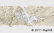 Classic Style Panoramic Map of Dongchun Shi
