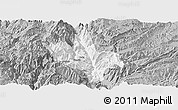 Gray Panoramic Map of Dongchun Shi