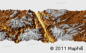 Physical Panoramic Map of Dongchun Shi