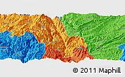 Political Panoramic Map of Dongchun Shi
