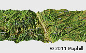 Satellite Panoramic Map of Dongchun Shi