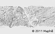 Silver Style Panoramic Map of Dongchun Shi