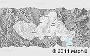 Gray Panoramic Map of Eryuan