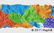 Political Panoramic Map of Eryuan