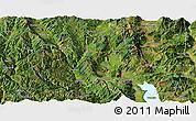 Satellite Panoramic Map of Eryuan