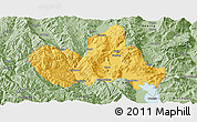 Savanna Style Panoramic Map of Eryuan