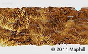 Physical Panoramic Map of Eshan