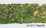 Satellite Panoramic Map of Eshan