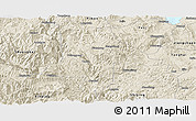 Shaded Relief Panoramic Map of Eshan