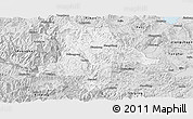 Silver Style Panoramic Map of Eshan