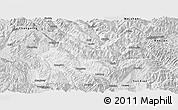 Silver Style Panoramic Map of Fengqing