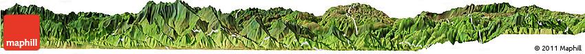 Satellite Horizon Map of Gejiu Shi