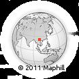 Outline Map of Gejiu Shi
