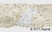 Classic Style Panoramic Map of Gejiu Shi