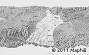 Gray Panoramic Map of Gejiu Shi