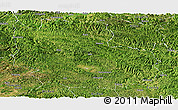 Satellite Panoramic Map of Guangnan