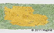 Savanna Style Panoramic Map of Guangnan
