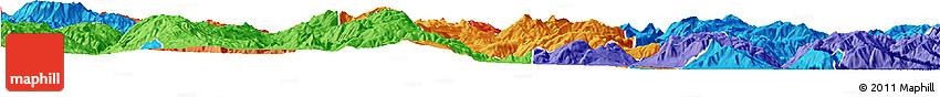 Political Horizon Map of Heqing