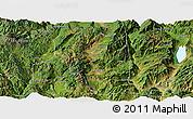 Satellite Panoramic Map of Heqing