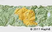 Savanna Style Panoramic Map of Heqing